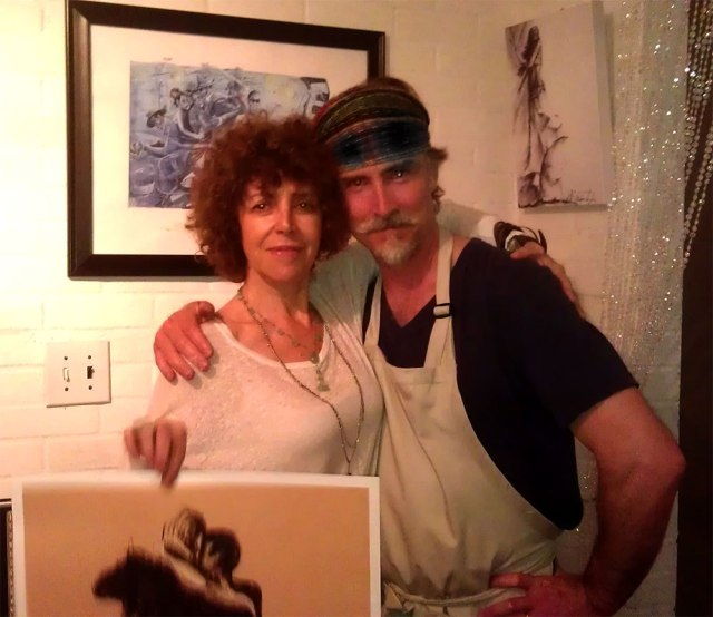 Susana Miller and the Artist