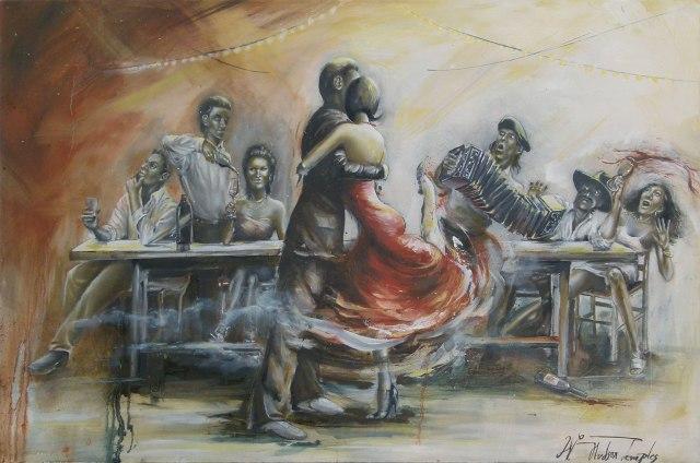 """""""An Anonymous Affair"""" 24"""" x 36"""" oil on canvas"""